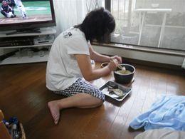 あけみ姉ちゃん鯛飯に挑戦.jpg