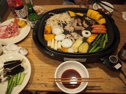 お肉少々野菜たっぷりの鉄板焼き.jpg
