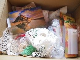 ようこさんから手芸材料が 青山で抽選会の景品にさせていただきますね_.jpg