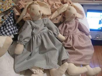 ウサギの姉妹も完成.jpg
