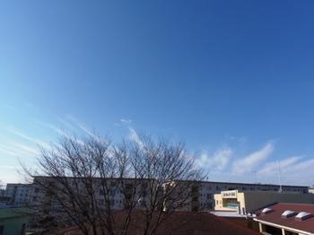 デザインしたような今朝の雲♪.jpg