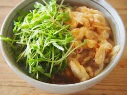 二毛作の芽は 天ぷらそばのトッピングに.jpg