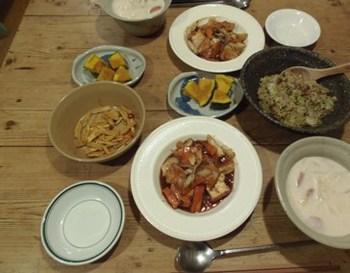 厚揚げの野菜あんかけ シラスと長ネギのごま油炒め♪.jpg