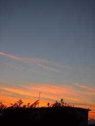 夕焼けが綺麗 今日も一日ありがとう.jpg