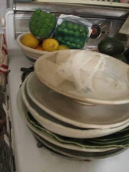 姉の料理を盛るお皿も出してきました♪.jpg
