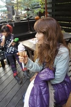 帰る前にアイスで食べおさめ~.jpg