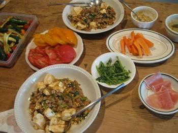 広東風麻婆豆腐 椎茸とネギのみじん切りが効いて最高に美味しい♪.jpg