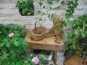 朝 会場に行ったらブースにそっと置いてあったバラたち・・・。.jpg