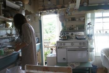 洗濯を干して朝ごはん作って ばあちゃん大忙し.jpg