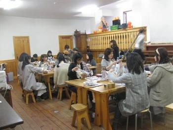 10月は清里で恒例「私のカントリーフェスタ」でドール教室を♪.jpg