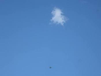 この頃亀の雲見なくなったね~ 天国に行ったんだね~ と2人.jpg