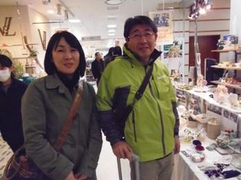 とってもいい笑顔のご夫妻 旦那様は転勤で仙台 奥様は秋田に戻られました.jpg