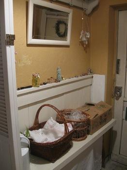 クリスマスはお片付け お正月に使う野菜や果物置きに(冷暗所です).jpg