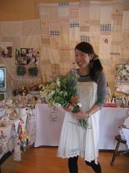 山口での強力スタッフちえみちゃん 9月にお嫁に行きます おめでとう♪.jpg