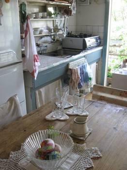 朝から下準備していたキッチンも綺麗に片づけて♪.jpg