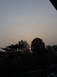 眩しくて見れない朝日もあれば こんな朝日も♪.jpg