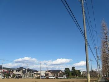 良い雲だね~なんて言いながら歩きました.jpg