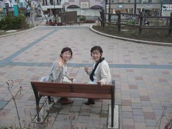青柳さんとお友達(頼もしいスタッフでもあります)お世話になりました♪.jpg